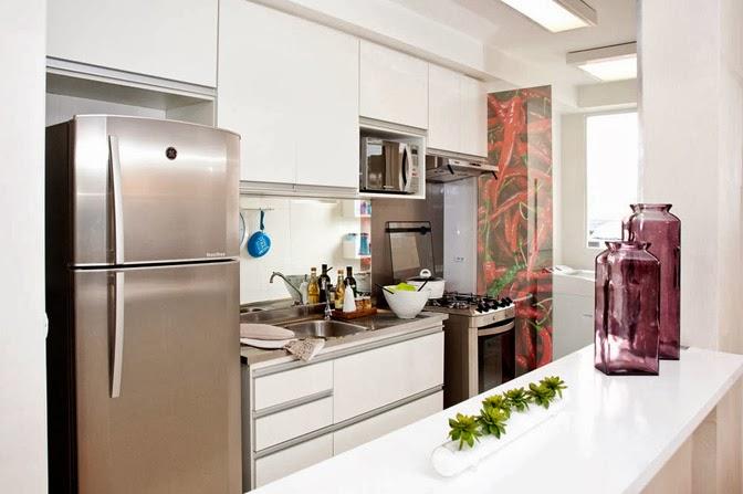 Well-known Como separar a cozinha da área de serviço - Viajando no  BR05