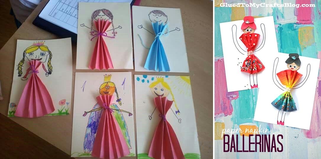 Atividades Criancas Colagem Vestidos Ideias Criativas Viajando No